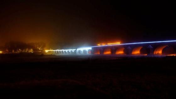 Pont sur la Loire de Beaugency - Concepteur l umière : Charles Vicarini