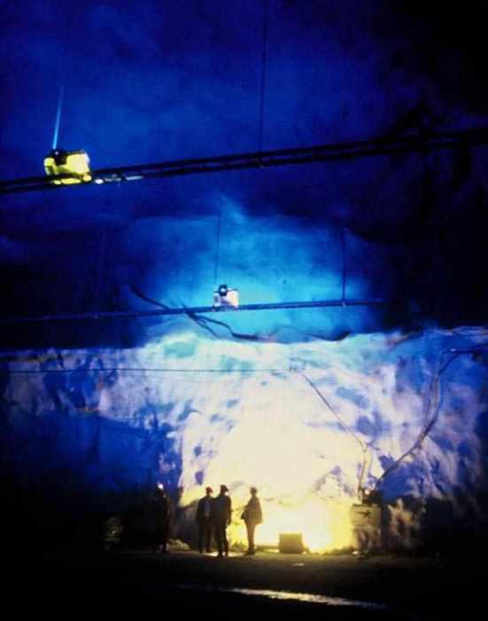 Tunnel de Laerdal, entre Bergen et Oslo, Norvège - Conception lumière et Photo Erik Selmer_43