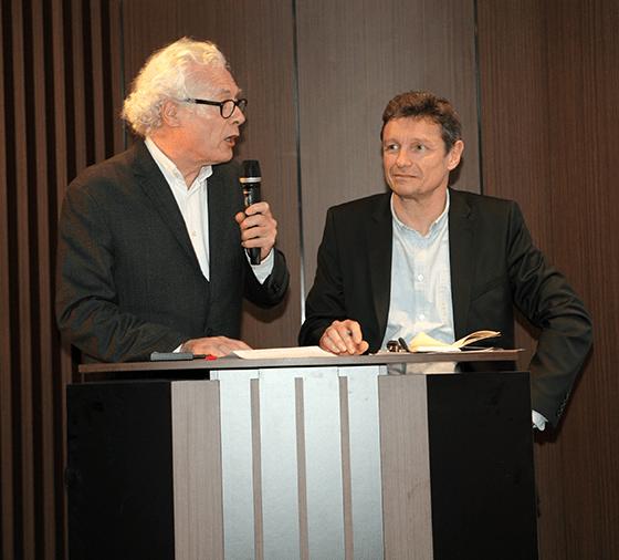 Thierry Van de Wyngaert et Gilles Davoine - Les Mardis de l'Architecture - auditorium Unibail-Rodamco - 14 janvier 2014