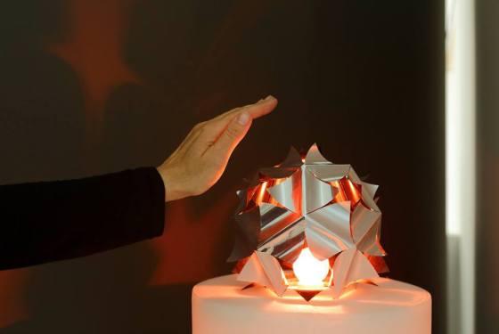 Daan Roosegaarde, «Lotus», 2011 – présenté à Lightopia © Vitra Design Museum 2013 - photo Ursula Sprecher