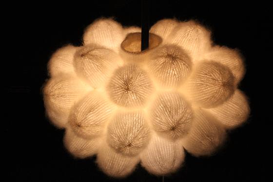 Phoebe 4, floorlamp 2013, Marcel Wanders, 25 ans de design, Stedelijk, Amsterdam - Photo : Vincent Laganier