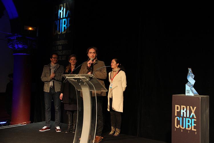 Le jury du Prix Cube 2013 © Le Cube