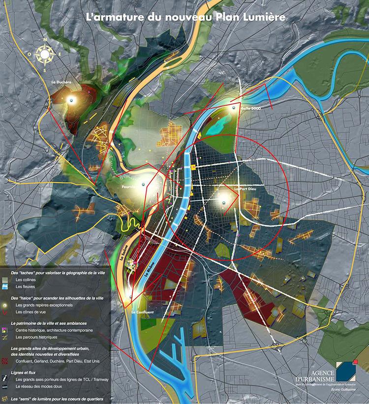 Lyon, armature-du-nouveau-plan-lumière-de-Lyon---Doc.-Ville-de-Lyon---Agence-d'Urbanisme---Bruno-Guillaume
