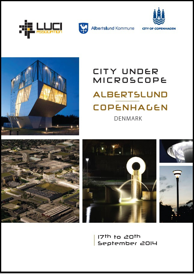 LUCI City Under Microscope - Albertslund Copenhagen cover