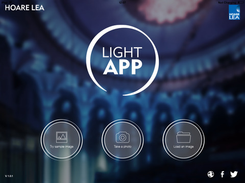 Light App screen1 480x480