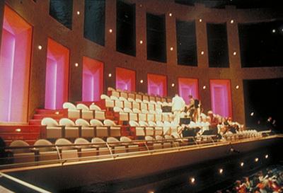 9-Salle de concert - Cité de la Musique, Paris - Architectes Christian de Portzamparc, François de Barberot - Concepteur lumière Gérald Karlikow - Photo Vincent Laganier