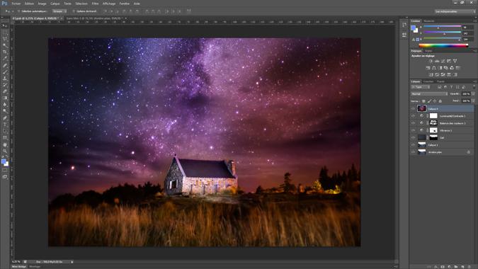 11 - changement de ciel - tutoriel Photoshop, maitriser la nuit – Nicolas Houel
