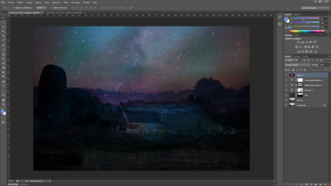 12 - opacite - tutoriel Photoshop, maitriser la nuit – Nicolas Houel