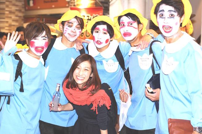 「ハロウィン コスプレ 渋谷」の画像検索結果