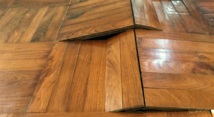 Damaged flooring