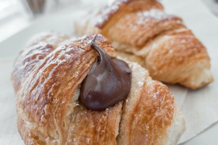 Sicilian croissants