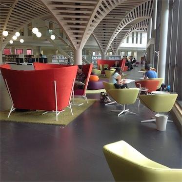 Bibliothèque universitaire section santé, Caen