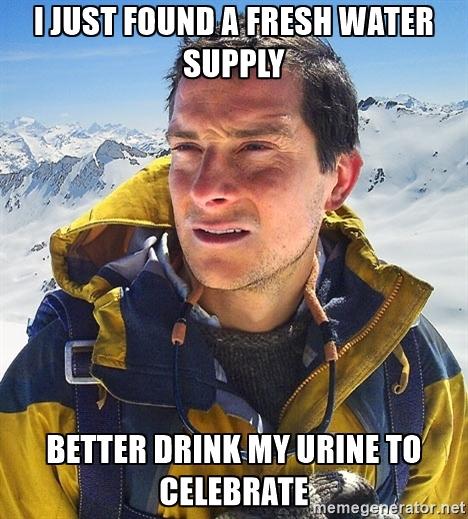Et en plus il boit même pas son pipi