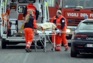 Incidente sulla A30, morti due anziani