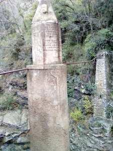 colonna infame laghetti Nervi