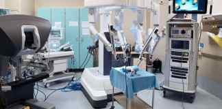robot chirurgo al Gaslini