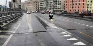sopraelevata genova pericolo scooter e moto