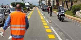 pista ciclabile corso Italia