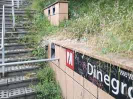 metro Di Negro sporca