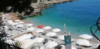 Balzi Rossi spiaggia
