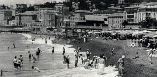 Pegli foto storica spiaggia