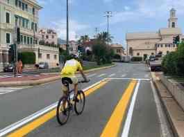 pista ciclabile corso Italia Boccadasse