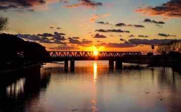 Entella tramonto