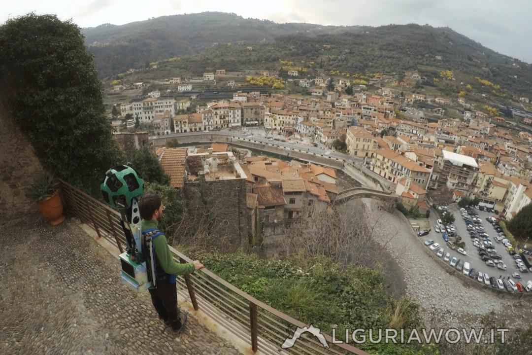 Vista castello Doria
