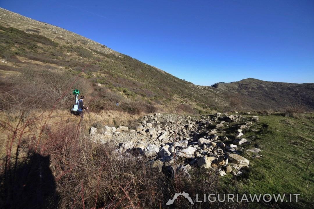 Neviera del Pizzo d'Evigno e Google Trekker