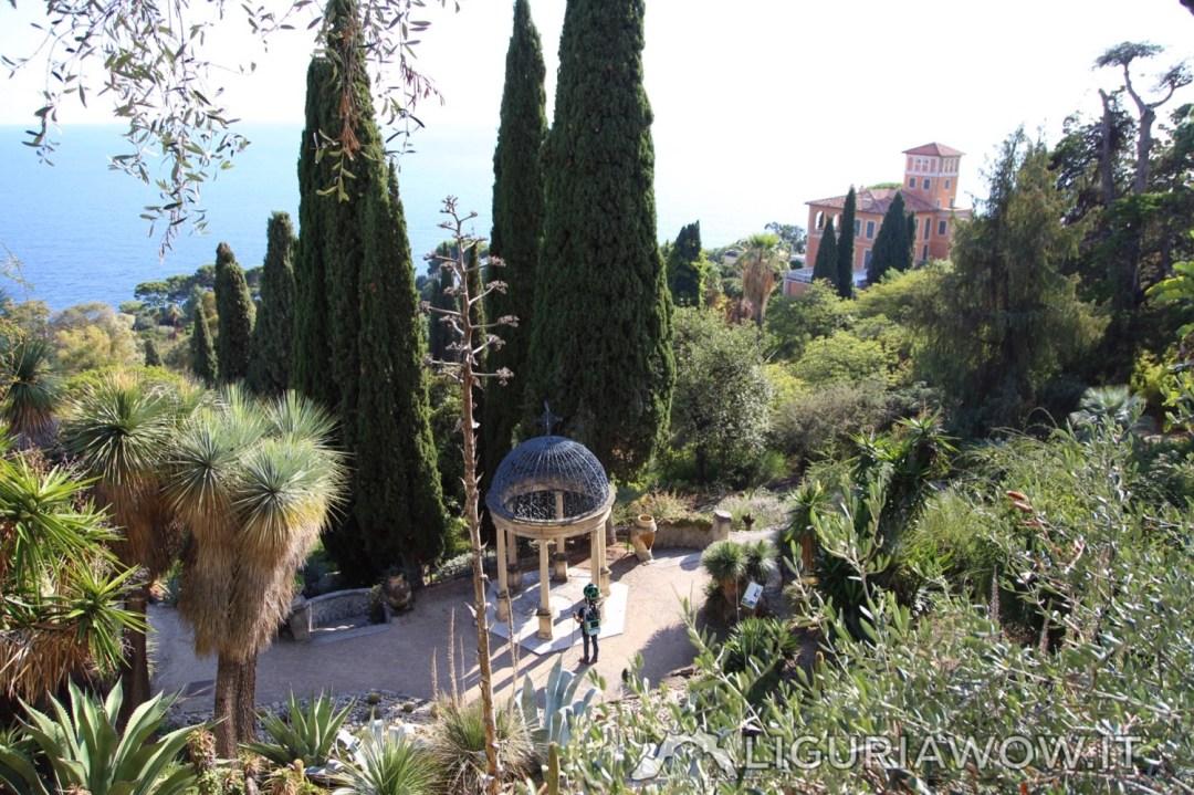 I Giardini Hanbury dall'alto