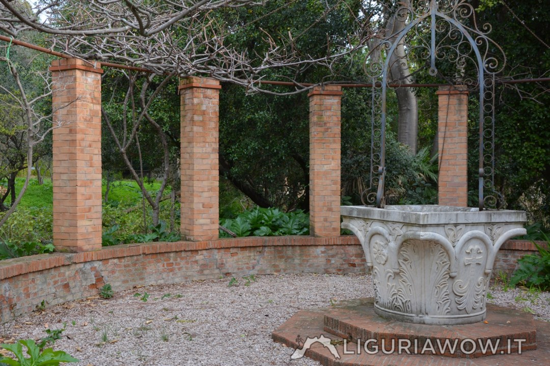 Giardini Botanici Hanbury piana pozzo veneto