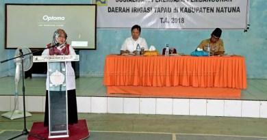 Wakil Bupati Natuna Harapkan Kontraktor Tampung Tenaga Kerja Lokal