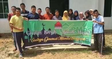 Rumah Pergerakan Bersihkan Masjid Quba IKPS