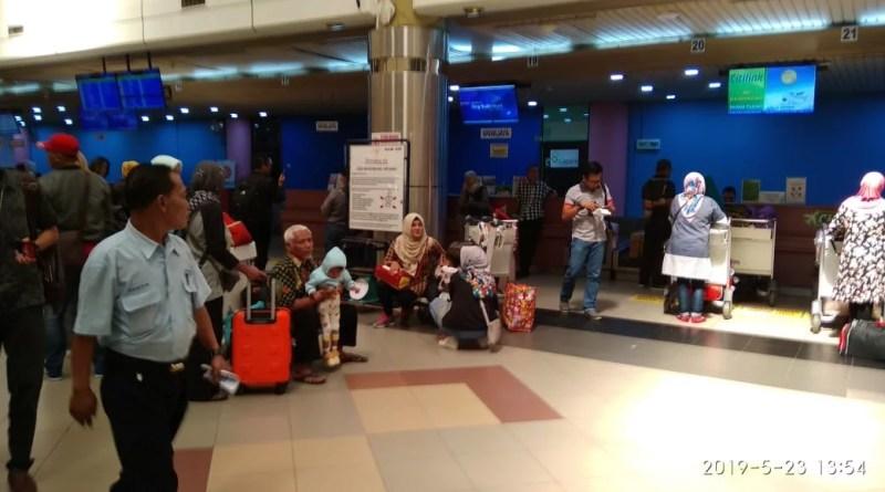 Pemudik Batam Pilih Transit Singapura Bandara Hang Nadim Sepi