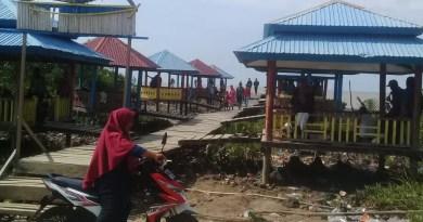 Pantai Beting Beras Objek Wisata Desa Kuala Merbau