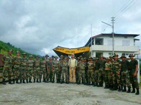 India sõjaväe laagris