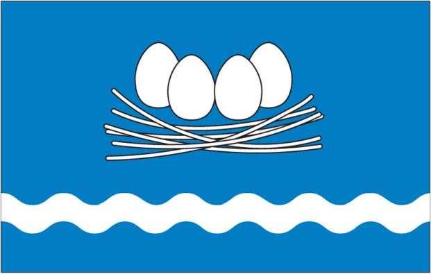 Lääneranna valla vapp_ja lipp VESILIND