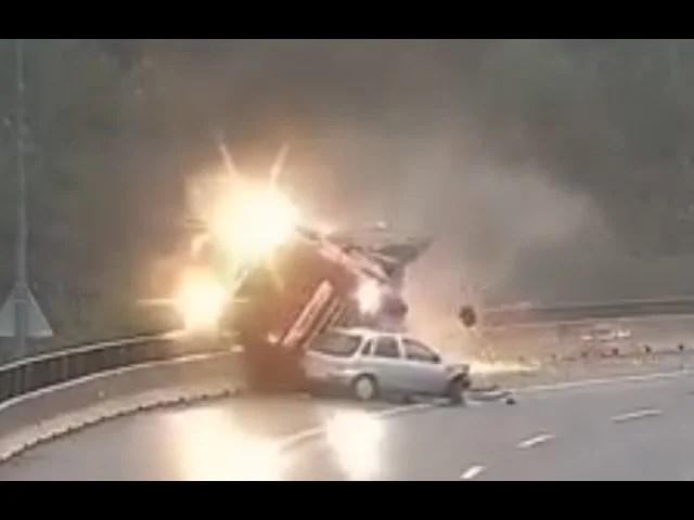 Raskeveok kadus peale kokkupõrget kuristikku