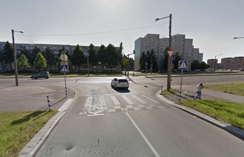 Mitterahuldava valgustuse ning odava drenaaži lahendusega künnis, Kalevipoja põik, Tallinn