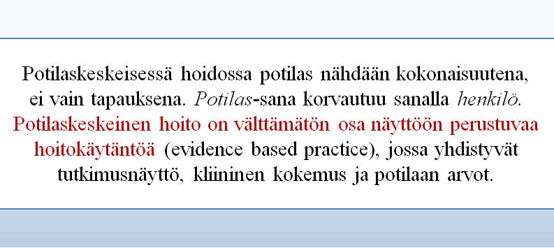 Evidence based practice Lim et al