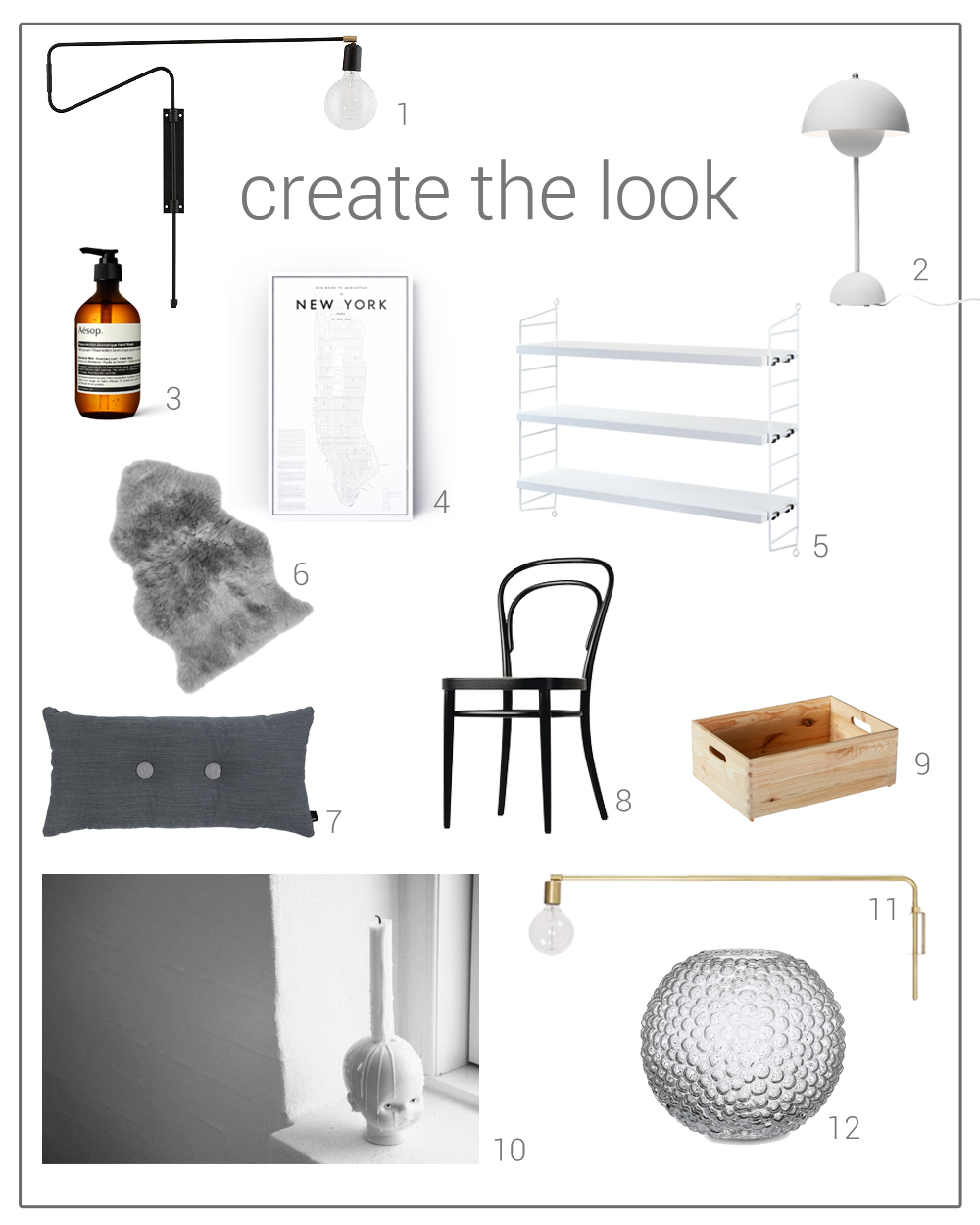 Create-the-look-Scandinavian-interior-design-wishlist