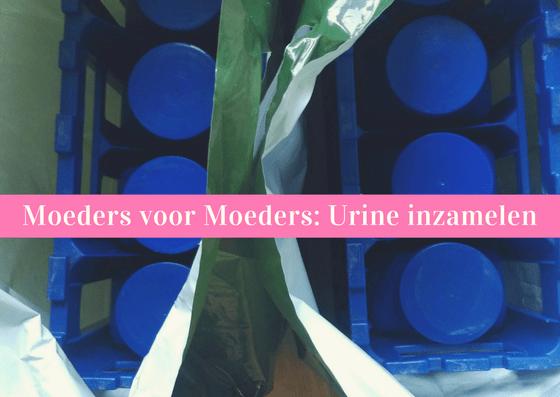 moeders voor moeders urine inzamelen