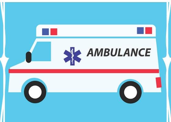 baby opgenomen in het ziekenhuis ambulance