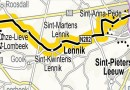 Doortocht Tour de France in Lennik op 6 juli 2019