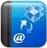 iPhoneの連絡先をバックアップするアプリ『連絡先バックアップ(Dropbox版)』