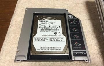 後編】MacBook Pro mid 2012を分解してSSDに換装しました|光学ドライブ,HDD交換
