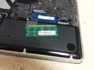 超快適!MacBook Pro Mid2012のメモリの増設方法
