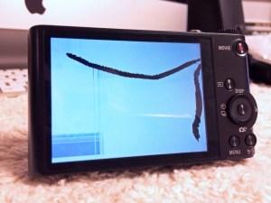 サイバーショットDSC-WX300の液晶画面を自力で交換しました