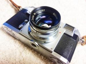 【クラシックカメラ】レンジファインダーカメラ「Contax IIa」で撮影に挑戦しました!
