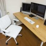 Macに合うオシャレなデスクと椅子を購入しました!